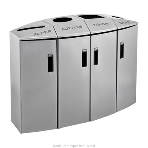 Rubbermaid 3486013 Waste Receptacle Recycle