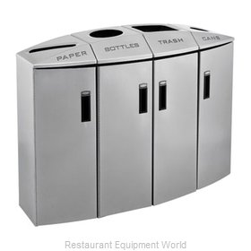 Rubbermaid 3486014 Waste Receptacle Recycle