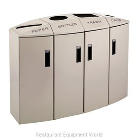Rubbermaid 3486016 Waste Receptacle Recycle