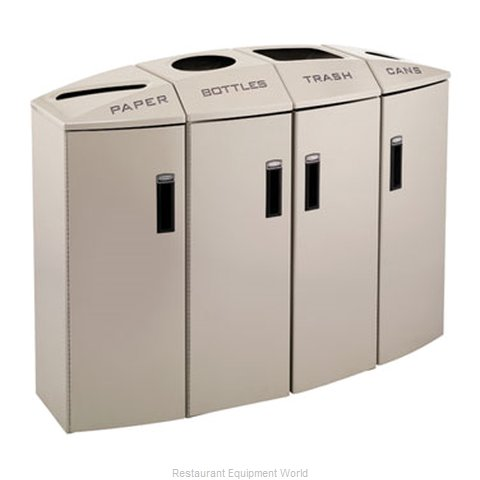 Rubbermaid 3486017 Waste Receptacle Recycle