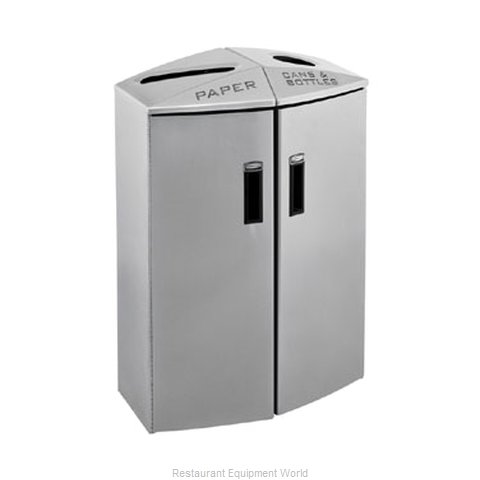 Rubbermaid 3486038 Waste Receptacle Recycle