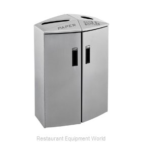 Rubbermaid 3486040 Waste Receptacle Recycle