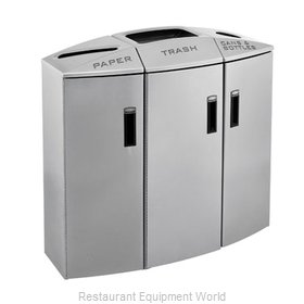 Rubbermaid 3486041 Waste Receptacle Recycle