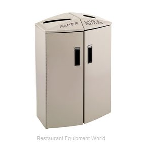 Rubbermaid 3486046 Waste Receptacle Recycle