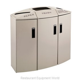Rubbermaid 3486047 Waste Receptacle Recycle