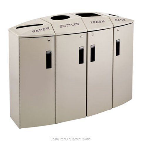 Rubbermaid 3486048 Waste Receptacle Recycle