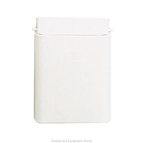 Rubbermaid FG10 Sanitary Napkin Receptacle (Magnified)
