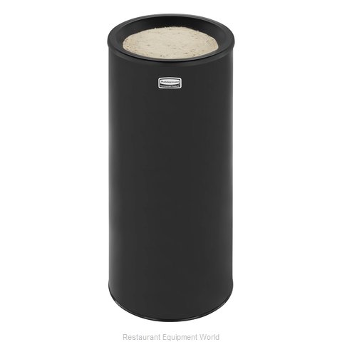 Rubbermaid FG1000EBK Sand Urn (Magnified)