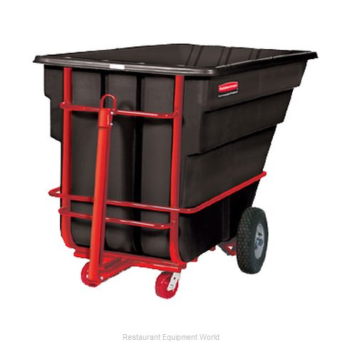 Rubbermaid FG102641BLA Tilt Truck Mobile