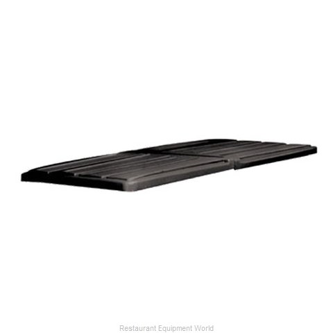 Rubbermaid FG102700BLA Truck Lid (Magnified)