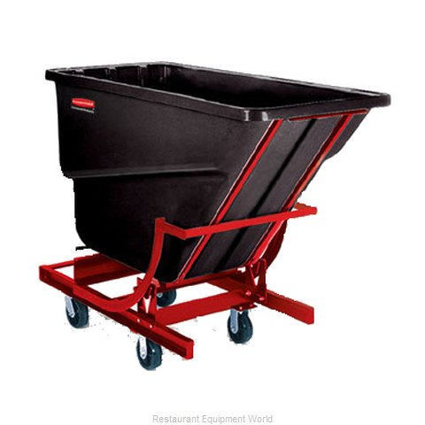 Rubbermaid FG105443BLA Hopper Self Dumping