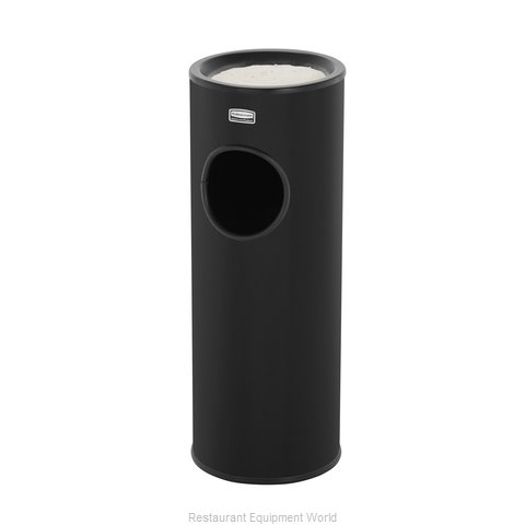 Rubbermaid FG1100EBK Urn (Magnified)