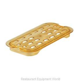 Rubbermaid FG113P00AMBR Food Pan Drain Tray
