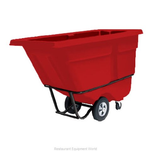 Rubbermaid FG130500RED Tilt Truck Mobile (Magnified)