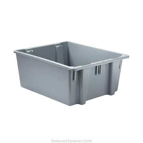 Rubbermaid FG173100GRAY Tote Box