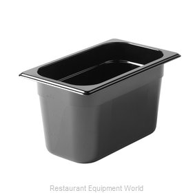 Rubbermaid FG212P00BLA Food Pan, Plastic Hi-Temp