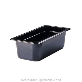 Rubbermaid FG217P00BLA Food Pan, Plastic Hi-Temp