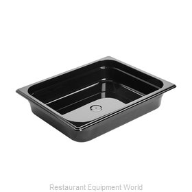 Rubbermaid FG223P00BLA Food Pan, Plastic Hi-Temp