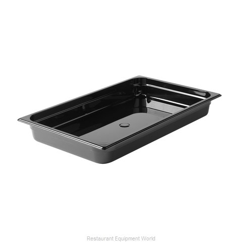 Rubbermaid FG230P00BLA Food Pan, Plastic Hi-Temp