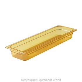 Rubbermaid FG239P00AMBR Food Pan, Plastic Hi-Temp