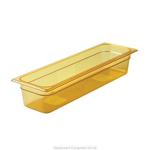 Rubbermaid FG240P00AMBR Food Pan Steam Table Plastic Hi-temp (Magnified)