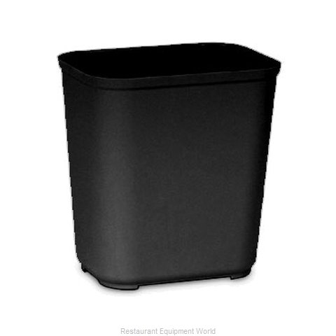 Rubbermaid FG254300BLA Waste Basket Plastic (Magnified)