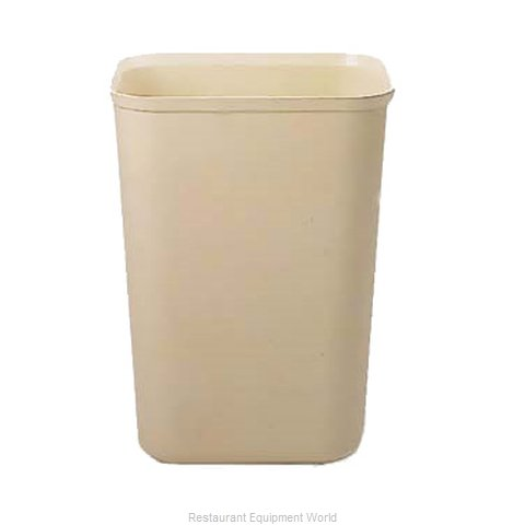 Rubbermaid FG254400BEIG Waste Basket, Plastic