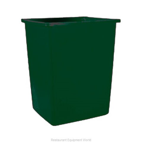 Rubbermaid FG256B06DGRN Trash Garbage Waste Container Stationary