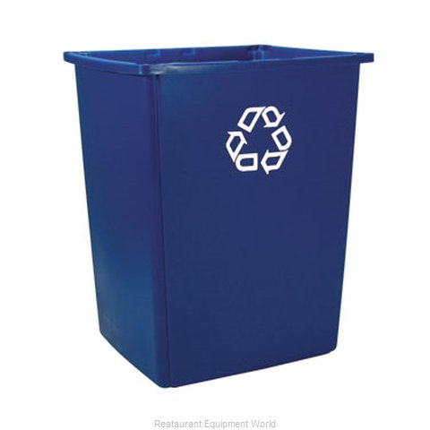 Rubbermaid FG256B73BLUE Trash Garbage Waste Container Stationary