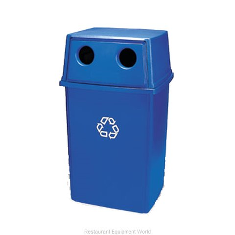 Rubbermaid FG256L00DGRN Cover Garbage Waste Receptacle Can