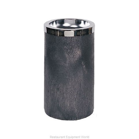 Rubbermaid FG258500BLA Ash Tray Receptacle (Magnified)