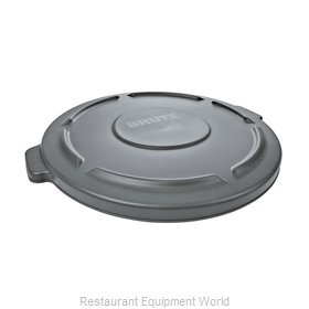 Rubbermaid FG260900GRAY Trash Receptacle Lid / Top