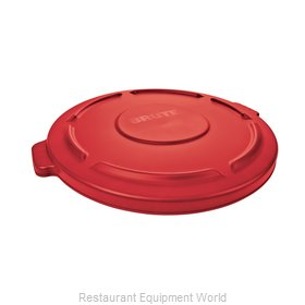 Rubbermaid FG260900RED Trash Receptacle Lid / Top