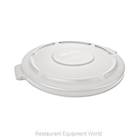 Rubbermaid FG260900WHT Cover, Garbage Waste Receptacle Can