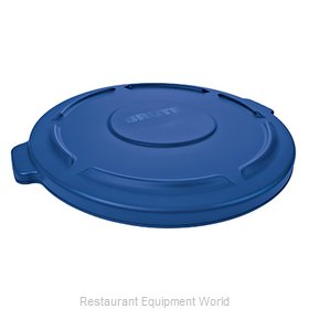 Rubbermaid FG263100BLUE Cover, Garbage Waste Receptacle Can