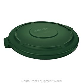 Rubbermaid FG263100DGRN Trash Receptacle Lid / Top