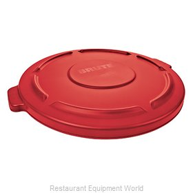 Rubbermaid FG263100RED Cover, Garbage Waste Receptacle Can