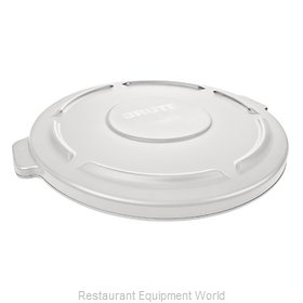 Rubbermaid FG263100WHT Cover, Garbage Waste Receptacle Can