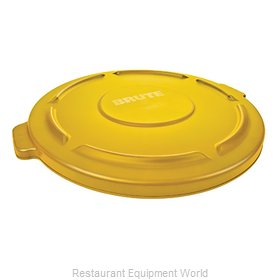 Rubbermaid FG263100YEL Cover, Garbage Waste Receptacle Can