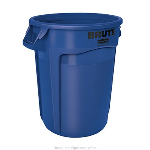 Rubbermaid FG263200BLUE Trash Garbage Waste Container Stationary