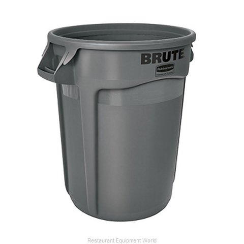 Rubbermaid FG263200GRAY Trash Can / Container, Commercial