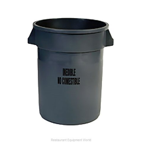 Rubbermaid FG263256GRAY Trash Garbage Waste Container Stationary