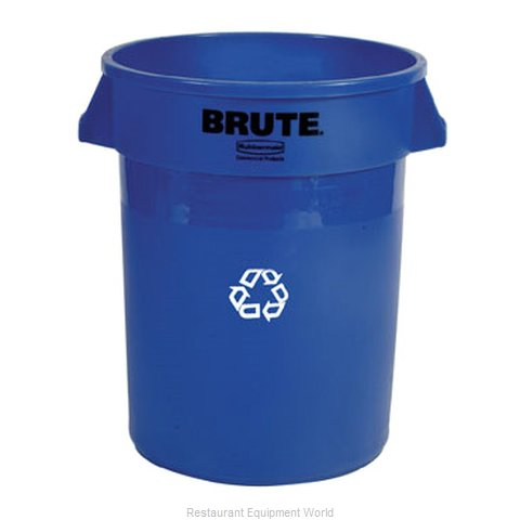Rubbermaid FG263273BLUE Waste Receptacle Recycle