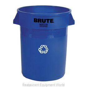 Rubbermaid FG263273BLUE Recycling Receptacle / Container