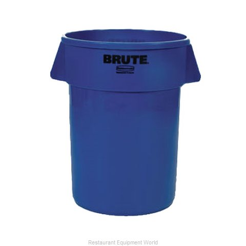 Rubbermaid FG264300BLUE Trash Garbage Waste Container Stationary
