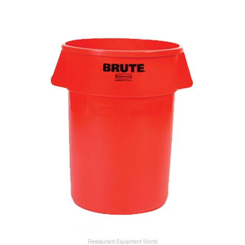 Rubbermaid FG264300RED Trash Garbage Waste Container Stationary