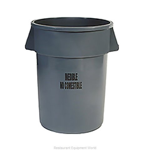 Rubbermaid FG264356GRAY Trash Can / Container, Commercial