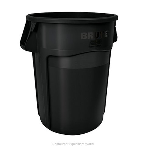 Rubbermaid FG264360BLA Trash Garbage Waste Container Stationary