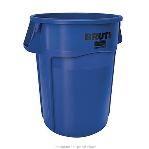 Rubbermaid FG264360BLUE Trash Garbage Waste Container Stationary
