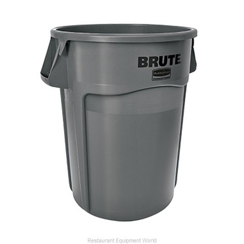 Rubbermaid FG264360GRAY Trash Garbage Waste Container Stationary